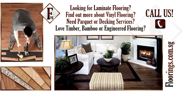 Looking for Laminate flooring? Find out more about Vinyl flooring? Need Parquet or Decking Services? Love Timber, Bamboo or Engineered Flooring? Floorings.com.sg - #1 Wood Flooring Specialists in Singapore