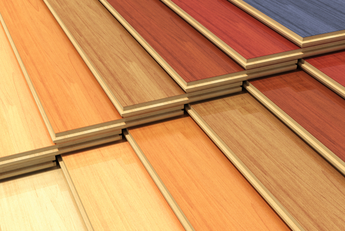 Laminate flooring and hardwood flooring
