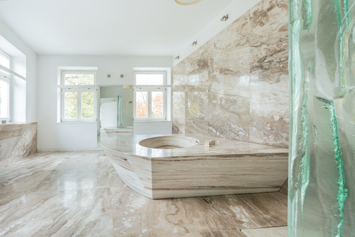 pros cons on marble flooring