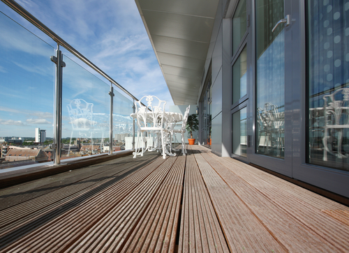 Decking for balcony