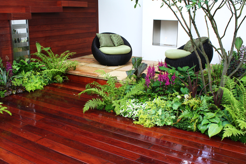 Outdoor Lamainate Flooring