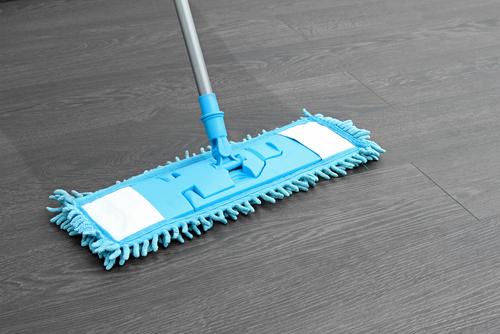 Mopping Laminate Flooring